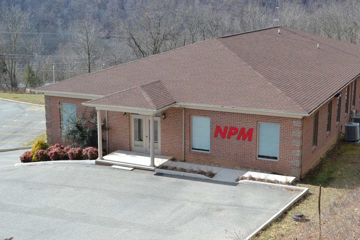 Photo of the Nippon Pulse building in Radford, VA