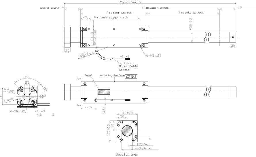 S500T system drawing