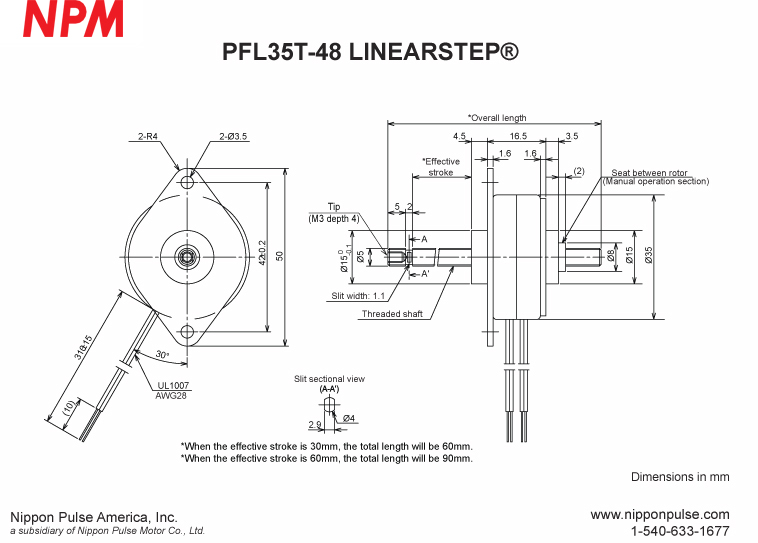 PFL35T-48C4-096-30 system drawing