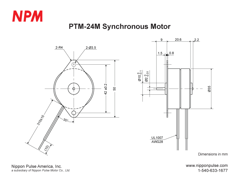 PTM-24M system drawing