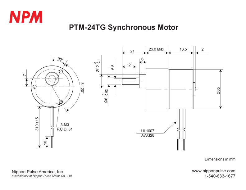 PTM-24TG(1/10) system drawing