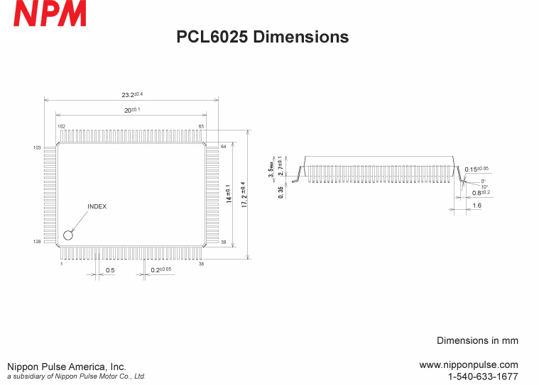 PCL6025B system drawing